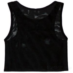 メッシュ製ナベシャツ ブラック