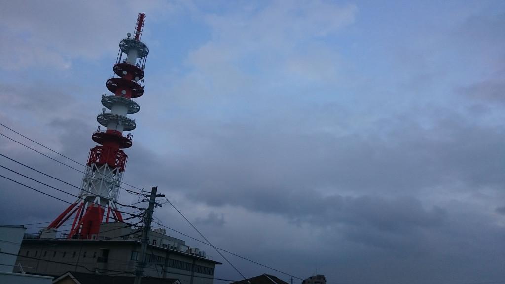 2015年9月1日 柏市の空もよう
